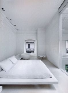 justthedesign: Bedroom, The White House, By Famous Italian Architect Piero Lissoni