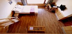 Family Suite : We have got it covered. Wooden floor and wooden roof.