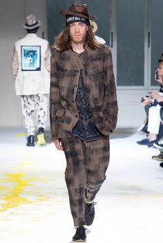 Yohji Yamamoto - Spring 2015 Menswear - Look 43 of 45