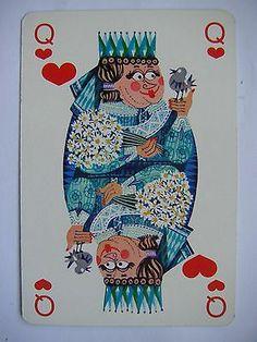 Gorgeous Vintage Dutch Deck DSM Spielkarten Jeu de Cartes   eBay