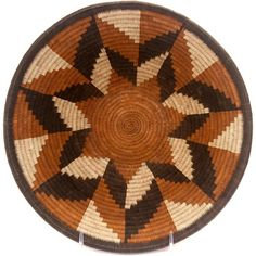 Masterweave African Basket - Botswana - 10 Inches Across - #48091