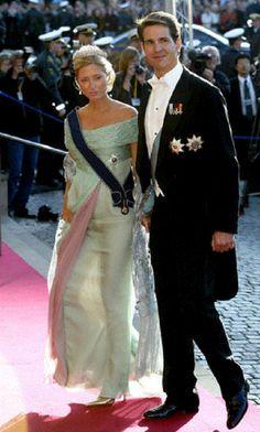 Crown Prince Pavlos & Crown Princess Marie-Chantal