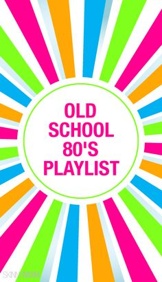 An 80's aerobics playlist? Yes Please!