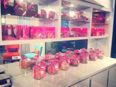 #DanielMercier's pretty boutique – à Lyric Hotel Paris. #chocolates #lyrichotel #paris #macaroons #hotel