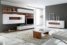 Şık Tv Unitesi Modelleri 2016 2017  Ev 俞 Dekarosyonu 俞 Prepossessing Design Wall Units For Living Room Design Inspiration