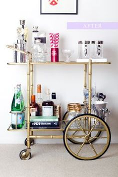 WHIMAGES: Trend Alert: BAR CARTS