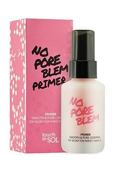 """I don't know what inspired me to bring this home, since I rarely use primer except for occasions on which I need my makeup to last overtime (and I've certainly never finished one), but I'm glad I did. I fell in love with the texture, because it doesn't feel like silicone and never pills.""Touch In Sol No Poreblem Primer, $18, available at Urban Outfitters. #refinery29 http://www.refinery29.com/makeup-must-haves-favorite-products#slide-8"