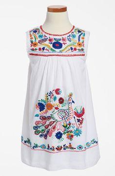 Peek 'Plume' Dress (Toddler Girls, Little Girls & Big Girls) available at #Nordstrom