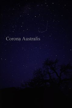 Corona Australis, the Southern Crown. (Photo credit: Till Credner, AlltheSky)