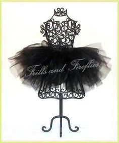 Black Cat Full and Puffy Tutu in Baby to Adult Sizes by Frills and Fireflies, $32.00