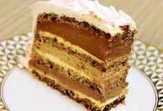Kako joj i sam naziv kaže torta nad tortama apsolutno je fantastična i ne razmišljajte ako vam treba torta za rodjendan odmah je izaberite. Gosti će biti oduševljeni sigurna sam.    Sastojci za 4 kore u kalupu 30 x 20 ili dve kore koje se seku pa se dobija 4 u velikom plehu od rerne:  18bela Brze Torte, Rodjendanske Torte, Torte Recepti, Kolaci I Torte, Baking Recipes, Cookie Recipes, Dessert Recipes, Desserts, Homemade Sweets