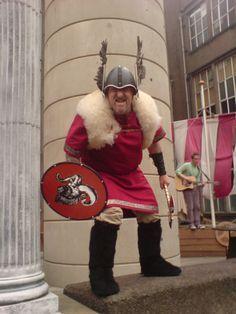 The Edinburgh Short Film Festival invaded by Vikings! Screening a night of Shetlandic short films became a tad riskier than we imagined! www.edinburghshortfilmfestival.com