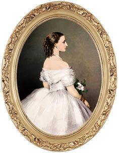 Princess Louise (1848-1939), later Duchess of Argyll - F. Winterhalter