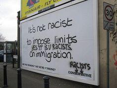 """""""Yes, it is racist."""""""