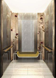 Bronze Magnolia Elevator Panels | Michael Wong & Yabu Pushelberg | Archinect