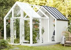 The Garden Shed from Kekkilä offers a nice place to store your garden . - The Garden Shed from Kekkilä offers a nice place to store your garden items or as a greenhouse for - Garden Buildings, Garden Structures, Shed Design, Garden Design, Dream Garden, Home And Garden, Pergola, Greenhouse Gardening, Greenhouse Shed Combo