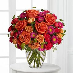 Modern Orange Rose Bouquet from Send Flowers! Perfect sized orange rose bouquet for a gift delivery, table centerpiece and more with fresh cut orange roses. Next Day Flowers, Flowers Today, Summer Flowers, Fresh Flowers, Beautiful Flowers, Send Flowers, Beautiful Things, City Flowers, Flowers Gif