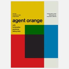 Agent Orange, 1984 17x23.75 now featured on Fab.