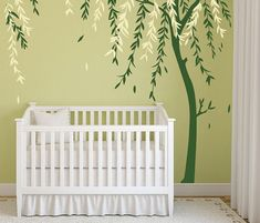 Baby Boy Nursery Ideas Stick on Wall Art Tree Decals for Walls Wall Sticker Decals Personalized Wall Decals DecalIsland - Baby Room Designs on Etsy, $76.00