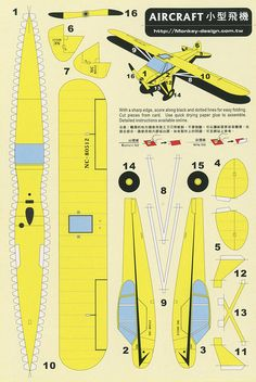 Aircraft - Cut Out Postcard | Flickr: Intercambio de fotos
