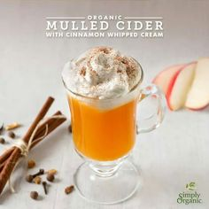 Organic Mulled Cider
