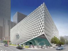 the broad, LA, Currently on partial display in an appointment-only gallery in Santa Monica, the vast collection assembled by Edythe and Eli Broad will be opened to the public next year in a much-anticipated new building by Diller Scofidio + Renfro in downtown L.A., across from Frank Gehry's Walt Disney Concert Hall.