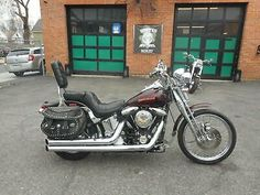 For Sale: 1990 Harley-Davidson Softail 1990 HARLEY DAVIDSON FXSTS SOFTAIL SPRINGER 1340 EVO FACTORY PAINT EXCEPTIONAL #harleydavidsondynapictures #harleydavidsondynastreetbob #harleydavidsondynamodels #harleydavidsondynalowrider #harleydavidsondynabagger #harleydavidsondynasuperglide Harley Davidson Engines, 2008 Harley Davidson, Harley Davidson Sportster, Truck Box Covers, Motorcycle Store, Motorcycle Gear, Dyna Low Rider, Used Motorcycles, New Engine