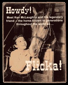 Howdy - Welcome to the My Friend Flicka Website