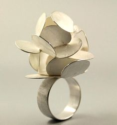 Ring | Claudia Steiner. Sterling silver
