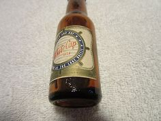 1940's White Cap Two Rivers Beverage Company Miniature Wisconsin Beer ...