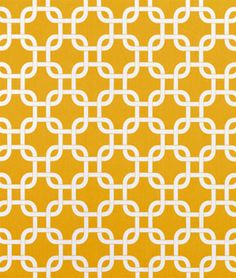 Premier Prints Outdoor Gotcha Yellow Fabric