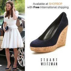 cbbc04a2ec63 Shopbop has the Stuart Weitzman  Corkswoon  wedges in stock with FREE  international delivery