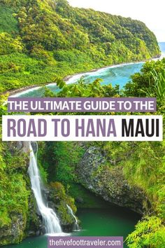 This is the Ultimate Guide to the Road to Hana, Maui. The Road to Hana, Maui: Everything you Need to Know. Ready for the most epic road trip in Maui? Don't miss the most epic stops and hikes on the road to Hana! | Road to Hana Stops | Road to Hana Guide | Road to Hana Drive | #hawaii #maui