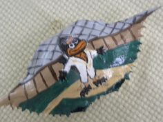 Baltimore Oriole Standing at Home Plate by KrustyKrabsandKrafts on Etsy