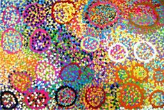 Lorna Fencer Napurrula Caterpillar Dreaming Australian Aboriginal Artist Lorna Fencer