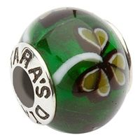 One of our most popular beads. This Green Shamrock bead will sure add a flare of Irish to any bracelet.