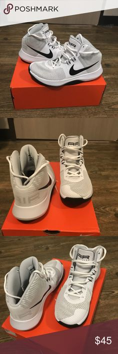 Nike basketball shoes Nike air presto. BRAND NEW!!!!!!!!!! Never been worn other than trying it on. Size 7 men's/8 women's. nothing wrong with them I just ordered the wrong size Nike Shoes Athletic Shoes