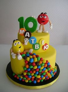 15 Ideas birthday kids cake kuchen for 2019 Crazy Cakes, Fancy Cakes, Cute Cakes, Fondant Cakes, Cupcake Cakes, Gravity Cake, Birthday Cake Decorating, Cake Decorating Techniques, Decorating Ideas