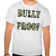 Anti Bullying T-shirts, Shirts and Custom Anti Bullying Clothing