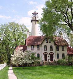 Grosse Point Light, Evanston   Illinois