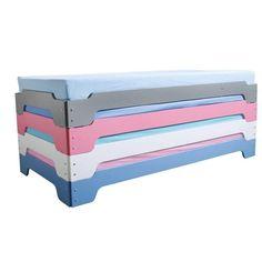 trois couchages dans un seul lit c 39 est le lit enfant superpos triple de mathy by bols lits. Black Bedroom Furniture Sets. Home Design Ideas