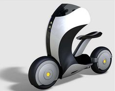 Virgin Scooter - The world is going electric when it comes to answering transportation needs. People are looking for reliable forms of transportation that are efficient as well as practical. Keeping all this in mind, designer Mikael Shevelkin has come up with a lightweight two-wheel ride named Virgin Scooter designed especially for the Virgin Brand.