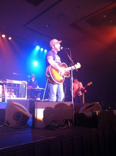We had front row seats!! Aaron Lewis
