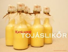 Karácsonyi tojáslikőr Hot Sauce Bottles, Holidays And Events, Travel Photos, Drinking, Beverages, Food And Drink, Vodka, Cooking Recipes, Sweets