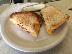 Grilled cheese with bacon at the Lexington Candy Shop