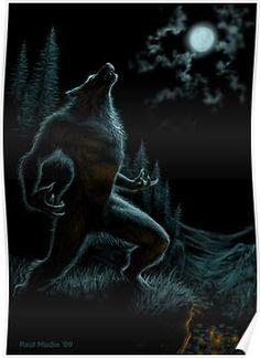 Devil, vampire and werewolf # 1911 Werewolf Facts, Werewolf Legend, Dark Fantasy, Fantasy Art, Fantasy Fiction, Beast, Howl At The Moon, Arte Obscura, Vampires And Werewolves