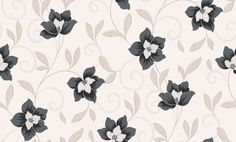 An all over wallcoverings featuring delicate swirling flower motif, embellished with glitter on matt background. Shown here in the slate colourway. Other colourways are available. Please request a sample for a true colour match. The Slate, French Blue, True Colors, Colour Match, Delicate, Glitter, Wallpapers, Flowers, Bedroom