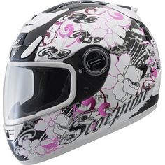 Scorpion EXO-700 Motorcycle Helmet - Fiore Pink Large : Amazon.com : Automotive