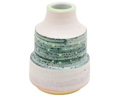 Mint Dot Porcelain Vase - Gretel