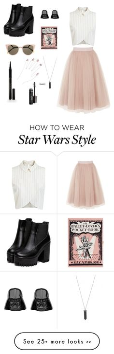 """Pretty & Punk"" by abbyday2018 on Polyvore featuring Coast, Miss Selfridge, Olympia Le-Tan, Fendi, Karen Kane and Elizabeth Arden"